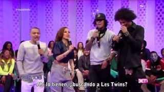 getlinkyoutube.com-Les Twins || 106 & Park Presentación y Entrevista [Subtitulada]