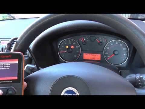 Fiat ABS Problem How To Erase Warning Light & Codes