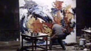 One more clip from  Karel Appel's studio