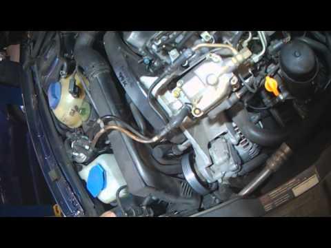 VW A4: ALH TDI Alternator removal