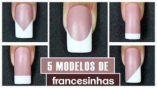 Como Fazer Francesinha (French Nails) | Cola na Villar