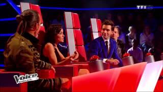 getlinkyoutube.com-Kendji Girac - The Voice Saison 3: Audition à l'aveugle