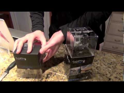 GoPro HD Hero2 Motorsports: Unboxing & Demonstration
