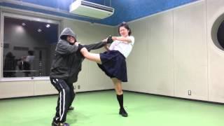getlinkyoutube.com-ガールズ・アクション!『Hybrid Action Class《Girls Fight篇》』