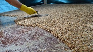 getlinkyoutube.com-How-To Install Epoxy Natural Stone Flooring