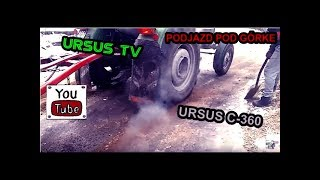getlinkyoutube.com-Ursus C-360 Podjazd pod górkę (2)