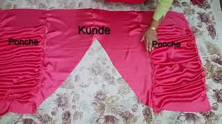 Stylish Plate Wali Shalwar | Khajuri Salwar|Cutting & Stitching Tutorial-Step by Step| For Beginners