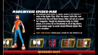 getlinkyoutube.com-Spiderman Shattered Dimensions pc all costumes