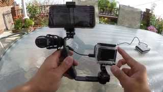 getlinkyoutube.com-GoPro Tip: Charge and Use External Microphone at the Same Time