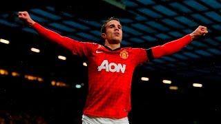 getlinkyoutube.com-Robin Van Persie's 58 Goals For Manchester United