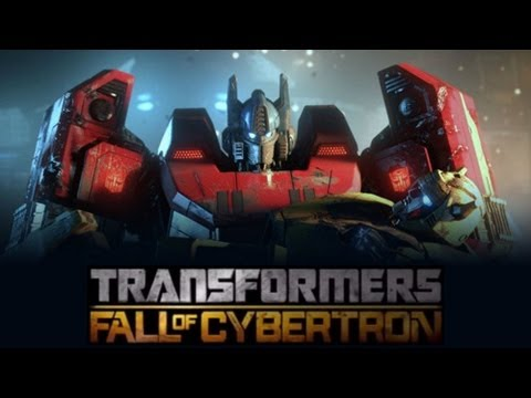 Transformers Fall Of Cybertron game Movie-full Length {hd}