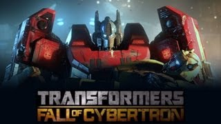 getlinkyoutube.com-Transformers Fall of Cybertron (Game Movie-Full Length) {1080p}