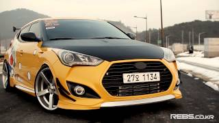 getlinkyoutube.com-VELOSTER ON REBS RS EVO