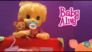 getlinkyoutube.com-Soft Face Baby Alive Doll 2006 Beatrix Morning Routine