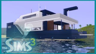 getlinkyoutube.com-The Sims 3 modern VIP Yacht (2015)