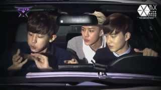 "[EXO CUT] 131207 Chanyeol, Suho y Sehun - Preview ""TROT X"""