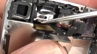 getlinkyoutube.com-iPhone 4 Digitizer Display Screen + Home Key Switch Repair / Replacement