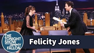 Felicity Jones Demos Her Badass Star Wars Fight Moves on Jimmy