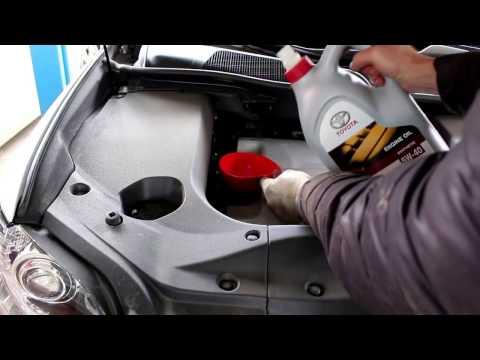 Lexus RX 350 Лексус 2012 года  Замена масла и фильтров двигателя и салона