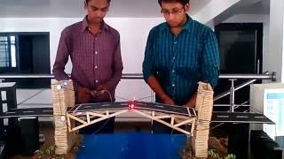 Model of Bascule Suspension Bridge