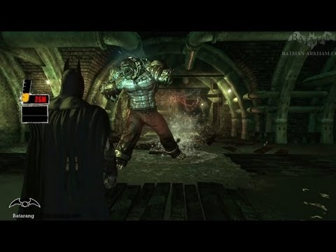 Batman: Arkham Asylum Walkthrough - Chapter 45 - Killer Croc's Lair