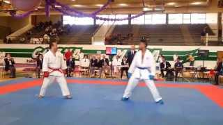 getlinkyoutube.com-Men's Black Belt Kumite Final - 2013 Genbu-Kai Interdojo Tournament