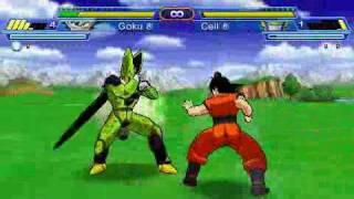 getlinkyoutube.com-[PSP] Dragon Ball Z - Shin Budokai Another Road Gameplay