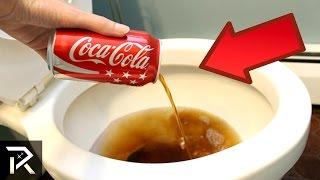 getlinkyoutube.com-10 Coca-Cola Hacks That Actually Work!