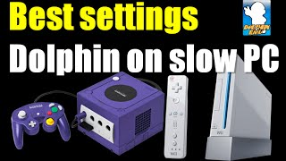 getlinkyoutube.com-How to run Dolphin Emulator faster on slow PC / tablet - Best Settings (HP Stream 7 config)