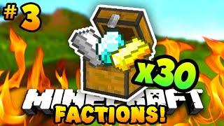 "Minecraft FACTIONS ""OPENING LOOT CHESTS!"" #3 - w/PrestonPlayz & MrWoofless"