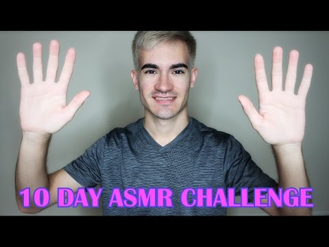 🎆 10 Day ASMR Challenge Announcement! 🎆
