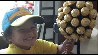 getlinkyoutube.com-Topiario Ferrero Rocher