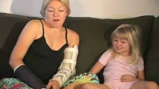 A short film about a mother with diabetes and 2 broken arms raising a 4 year old girl.