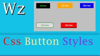 Css Button Styles | web zone