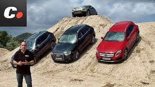 getlinkyoutube.com-Mercedes-Benz GLA, Range Rover Evoque, Audi Q3, BMW X1 | Prueba SUV / crossover Premium | coches.net