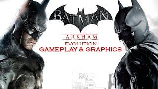 getlinkyoutube.com-Arkham Knight vs Origins/City/Asylum Comparison Graphics/Gameplay [1080p]