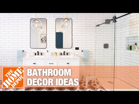 A video highlighting bathroom decor ideas.