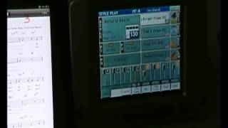 getlinkyoutube.com-Using iPad to select Korg PA2x Songbook Entries.wmv