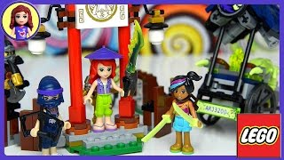 getlinkyoutube.com-Lego Friends Girls meet Lego Ninjago Master Wu Dragon Silly Build and Play - Kids Toys