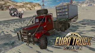 getlinkyoutube.com-Euro Truck Simulator 2 - Goba.r43 Map v1.22 Desafio no Gelo + G27