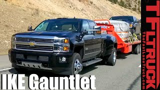 getlinkyoutube.com-2016 Chevy Silverado 3500 HD Dually Takes on The Extreme Ike Gauntlet Towing Review
