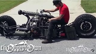 getlinkyoutube.com-Twin Turbo Diesel AWD Motorcycle (Bike & Builder episode 2)