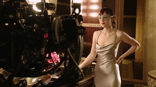 getlinkyoutube.com-Go Behind The Scenes on FIFTY SHADES DARKER with Dakota Johnson & Jamie Dornan + MOVIE CLIPS