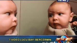 getlinkyoutube.com-On The Spot - 7 Video Lucu Bayi Bercermin