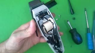 getlinkyoutube.com-Как собрать, отремонтировать машинку для стрижки волос Moser 1400