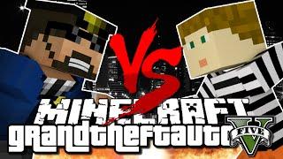 getlinkyoutube.com-Minecraft Challenge - GTA V - COPS VS ROBBERS