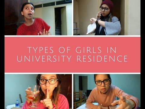 انواع البنات في الإقامة الجامعية الجزائرية
