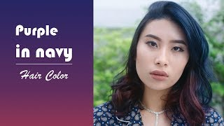 Navy in Purple - Hair Color(Hoyu Professtional)