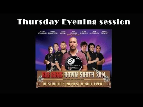Big Guns Down South 8 Ball 2014 Day 1 evening