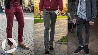7 decades of men's pants